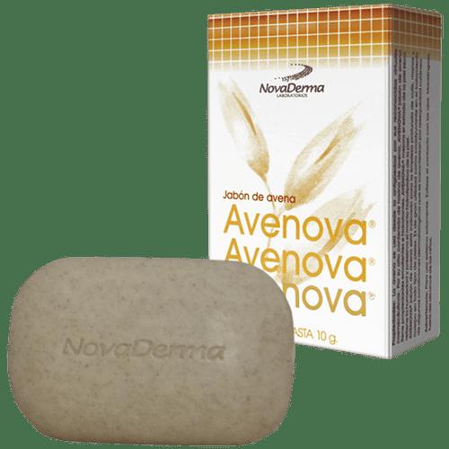 NOVADERMA-LIMPIADORES-AVENOVA-JABON