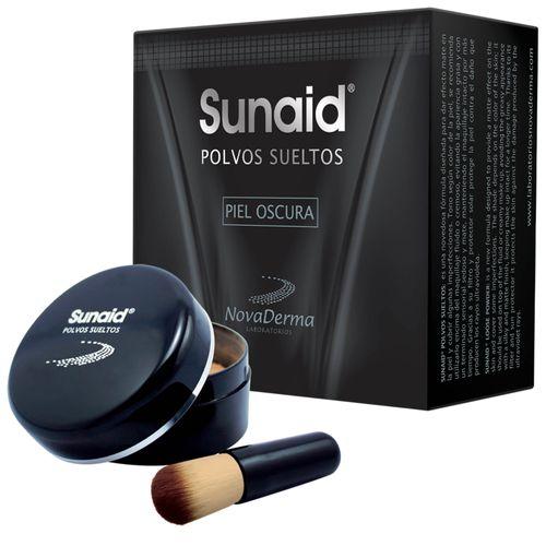 novaderma-protector-solar-sunaid-polvo-suelto-oscura