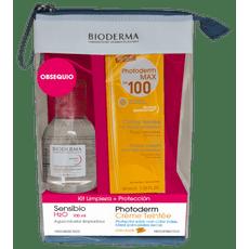 BIODERMA-KIT-PHOTODERM-CREME-TINTEE--SENSIBIO-H2O-100ML